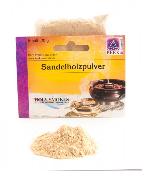 Räucherwerk Sandelholzpulver