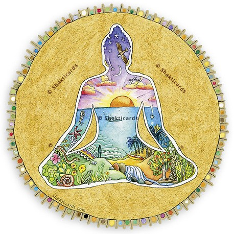 Aufkleber Buddha