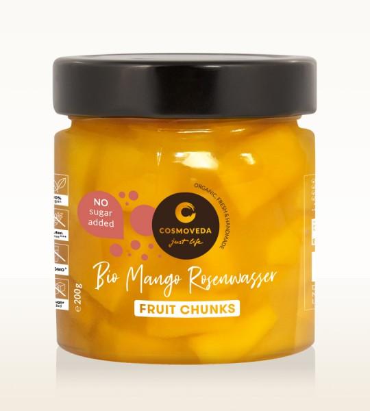 Mango-Rosenwasser Fruchtstücke bio