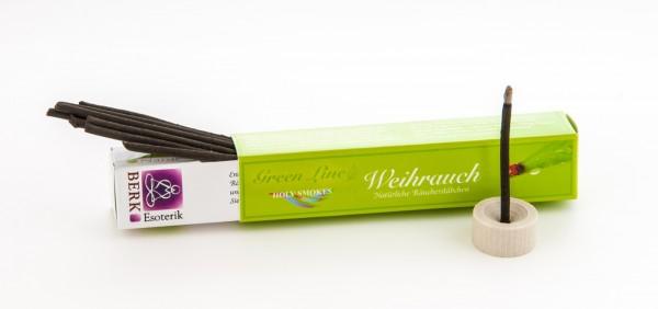 Räucherstäbchen Weihrauch Green Line