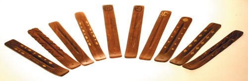 Räucherstäbchenhalter Holz